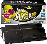 Yellow Yeti 593-BBBU (6000 Seiten) 2 Schwarz Premium Toner kompatibel für Dell C2660dn C2665dn C2665dnf [3 Jahre Garantie]