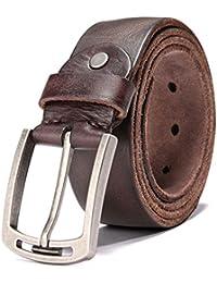 c2189ac048c HZHY Men s Leather Belt