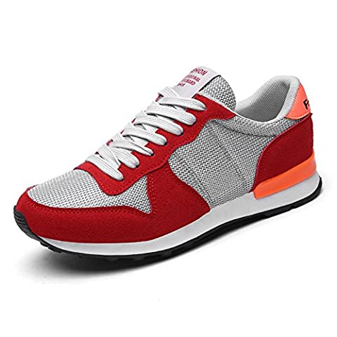 WZG New sports casual shoes breathable net surface light running