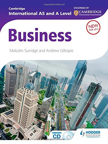 Cambridge International AS & A Level Business (Contains CD-ROM) by Malcolm Surridge (2014-11-19)