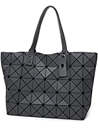 a83de7e4c2fe0 Frauen Tasche Matte Geometrische Falten Diamant Tasche Mode  Schultertasche