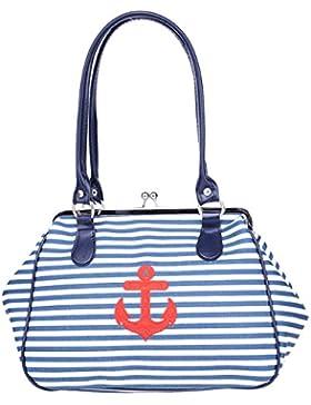 Küstenluder Damen Tasche Alona Sailor Anker Handtasche
