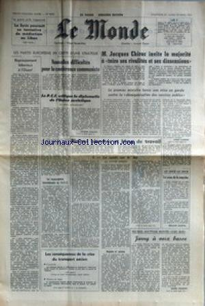 MONDE (LE) [No 9698] du 28/03/1976 - LA ...
