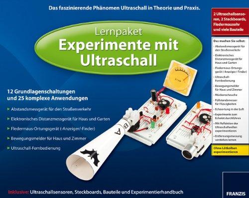 Experimente mit Ultraschalltechnik