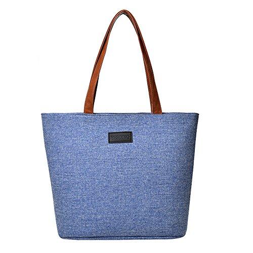 VJGOAL Damen Handtasche, Schwarz Handtasche Abendpaket Frau Mädchen Mode Segeltuch Umhängetasche Nützliche Taschen -