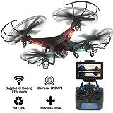 LiDi RC L20 6 Axis 5.8G FPV Transmisión en tiempo real Drone con 2.0MP HD Cámara RC Quadcopter