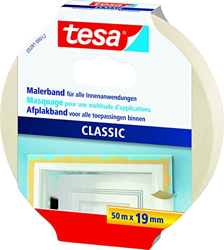 tesa® Spar-Set: 2x 05281-12-05 Maler-Krepp Premium Classic 50m:19mm