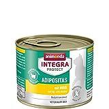 animonda Integra Protect Adipositas Katzen-Nassfutter | Diätfutter | Tiernahrung bei Übergewicht | Sorte: Huhn (6 x 200g)