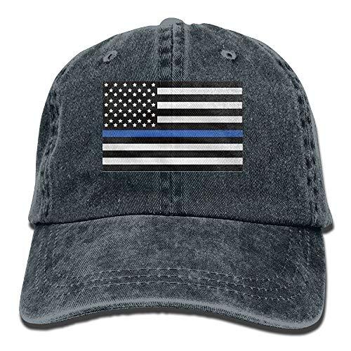 KKAIYA Infant Support The Police Thin Blue Line American Flag Cute Baby Onesie Bodysuit Snapback Cotton Cap Irish Infant Bodysuit