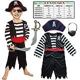 Sincere Party Kinder Piraten Jungen Kostüm mit...