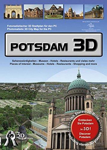 Potsdam 3D: Fotorealistischer 3D Stadtplan für den PC - 3D RealityMap