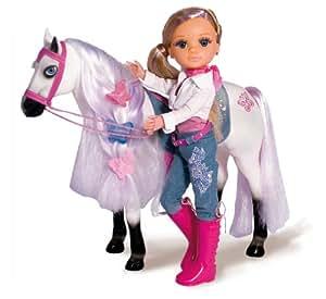 nancy 700004973 puppe mit pferd spielzeug. Black Bedroom Furniture Sets. Home Design Ideas