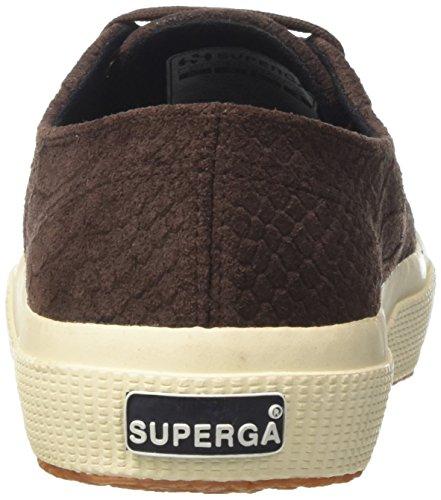 Superga 2750-Fglanacondaw, Sneaker a Collo Basso Donna Marrone (Brown Coffee)