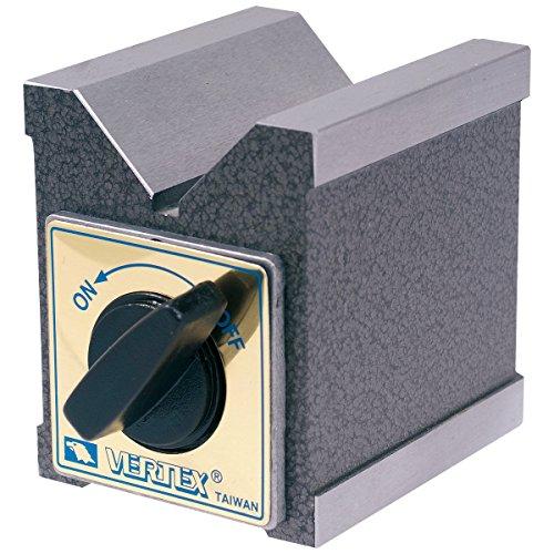 hhip Vertex Pro-Serie magnetisch v-blocks mit Schalter (verschiedene Größen: 7,3x 5,4x 7cm-7,3x 6x 10,9cm), 2.87 x 2.13 x 2.76