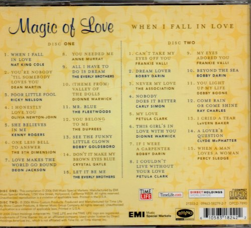 Magic of Love: When I Fall in Love