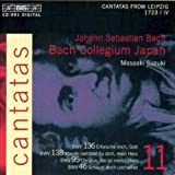 Bach : cantates sacrées vol. 11 BWV 136, 138, 95, 46