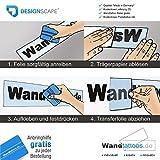 DESIGNSCAPE® Wandtattoo Federn Set in verschiedenen Größen 9x5-39x17 cm (Breite x Höhe) weiss DW805017-S-F5 Vergleich