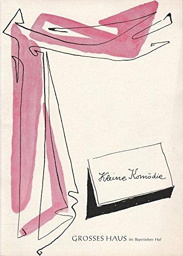 Programmheft DAS GLAS WASSER. Lustspiel von Eugene Scribe. Spielzeit 1961 / 62 Heft 1 Ausgabe 1 Nov. / Dez. 1961