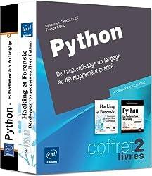 Python - Coffret de 2 livres : De l'apprentissage du langage au développement avancé