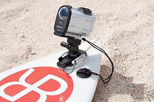 Sony FDR-X1000 4K Actioncam Live-View Remote Kit (4K Modus 100/60Mbps, Full HD Modus 50Mbps, ZEISS Tessar Objektiv mit 170 Ultra-Weitwinkel, Vollständige Sensorauslesungohne Pixel Binning) weiß - 3