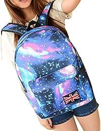 Wuiyepo Motif de Galaxy unisexe sac Voyage école de mode Sac à dos