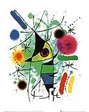Kunstdruck 'Der singende Fisch', von Joan Miró, Größe: 24 x 30 cm
