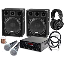 McGrey DJ Karaoke set completo Party-2000 1200W