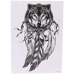 TemporäRe Tattoos Aufkleber, QinMM GefäLschte TäTowierungen Wasserdichte Und Ungiftige Tattoo Papier (H)