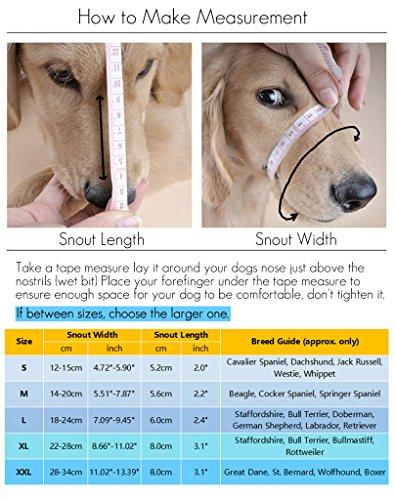 Hund Maulkorb mit Klettverschluss – Gepolstert und Einstellbar - 2