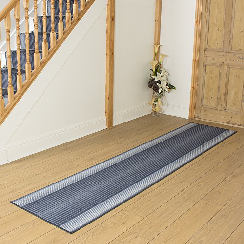 Capitol Blue - Long Hall & Stair Carpet Runner
