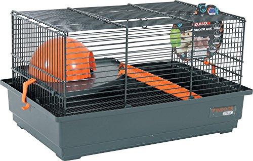 Zolux Indoor Gabbia per Mouse/Criceto Arancione 40x 25,5x 21,5cm