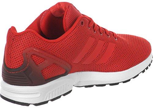 adidas Zx Flux, Scarpe da Ginnastica Unisex – Adulto Rosso (Red/Core Black/Ftwr White)