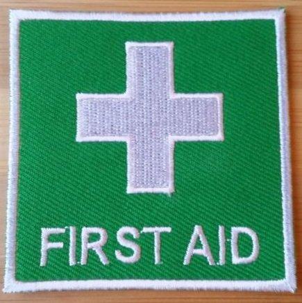 premiers-secours-logo-brode-fer-sur-patch-securite-badge-paramedic-deguisement-livraison-gratuite