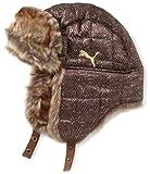 PUMA Mütze Downey Trapper, herringbone-brown, L/XL, 842931 01