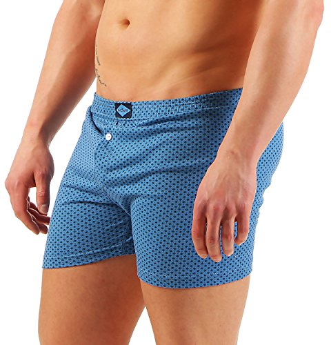 3er Boxershorts Herren Unterwäsche Unterhosen Trunks Nr. 451 (Farben können variieren) ( Mehrfarbig / 13 (XXXXXL) ) - 3
