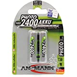 Ansmann - 5030492 - Accu AA pour appareil photo - 2400 mAh