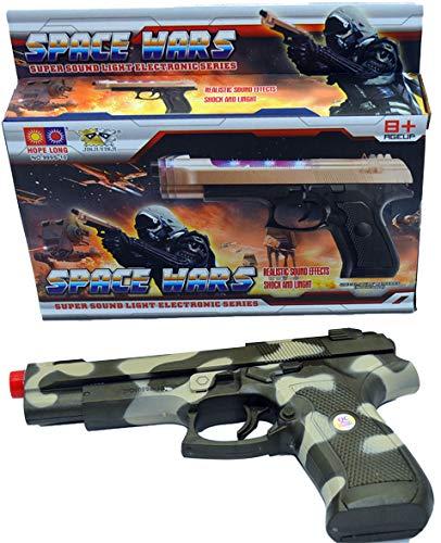 GYD Hero Space Laser Ultraschall Railgun Pistole Sound & Licht!!