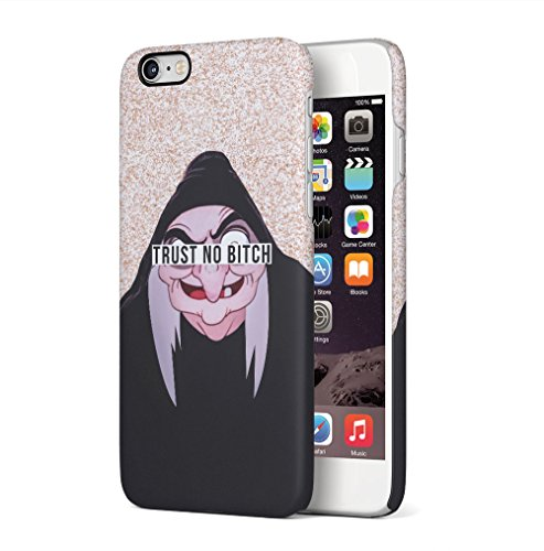 Maceste Cartoon Witch Trust No Bitch Kompatibel mit iPhone 6 Plus/iPhone 6S Plus SnapOn Hard Plastic Phone Protective Fall Handyhülle Case Cover (Tattoos Iphone 6 Fall)