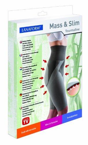 Lanaform Anti Cellulite Hose Shorts aus Bambus-Viskose und Turmalin® Größe L 42/44 bekannt aus GALA