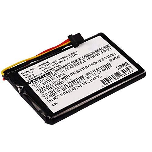 subtel® Qualitäts Akku kompatibel mit Tomtom GO 950 GO 950 Live (1100mAh) AHL03711008,HM9420236853 Ersatzakku Batterie