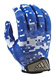 adidas FilthyQuick Digital Receiver American Football Handschuh, royal-blau, Gr. XL