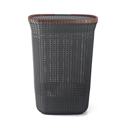 Cello Creta Plastic Laundry Basket with Lid