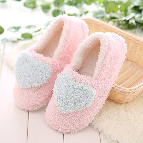 LEPAKSHI Purple, 8 : Winter Cute Home Floor Soft Ladies Indoor Slippers Cashmere Warm Casual Female Slip Shoes For Shoese Footwear Women Low Heels