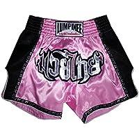 Lumpinee LUMRTO-003-Pink Short rétro boxe thaï kick-boxing