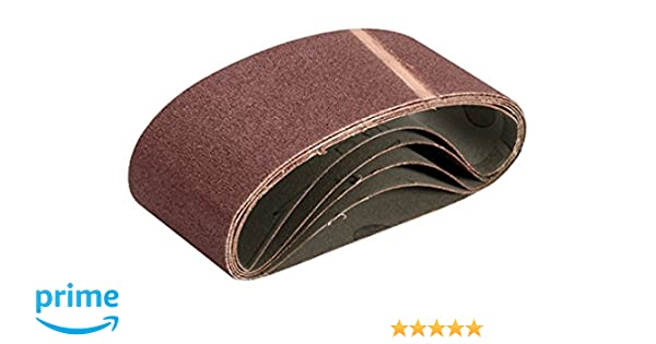 Triton TCMBS100G Aluminium Oxide Sanding Belts 100G Pack of 3 64mm 2/½