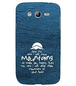 PrintVisa Designer Back Case Cover for Samsung Galaxy Grand I9082 :: Samsung Galaxy Grand Z I9082Z :: Samsung Galaxy Grand Duos I9080 I9082 (Love Defining Quote)