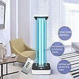 DOOK Lampada per Sterilizzazione UV Lampada Antibatterica Ultravioletta Integrata,con Disinfezione Tubo Quarzo UV-C Portatile Disinfettante LED per Auto Frigorifero Domestico Toilette Area Pet,Ozone