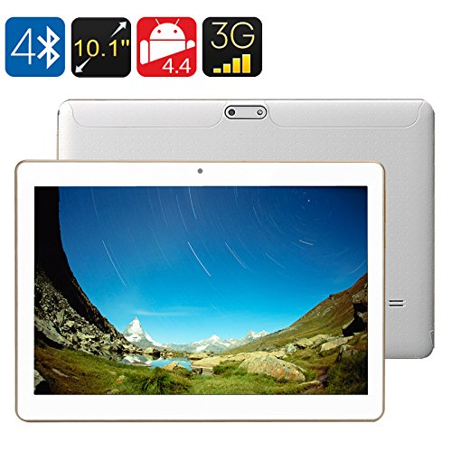 Generic 3g Android Tablet - 10. 1 Inch Ips Screen, Android 4. 4, 1gb Ram + 16gb Rom, Bluetooth 4. 0, Otg