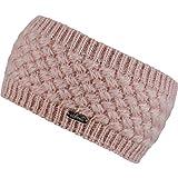 Chillouts Felicy Stirnband Headband Stirnwärmer Ohrenschutz Ohrenwärmer Fleecefutter Ohrenschutz Ohrenwärmer (One Size - rosa)