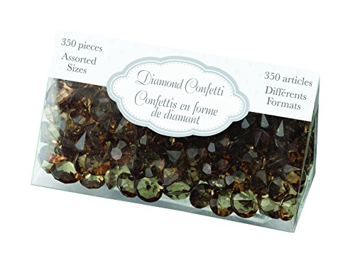 Lillian Rose Diamant Confetti, Marron